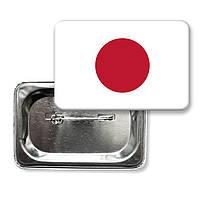 """Значок закатной """"Флаг Японии"""""""
