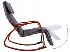 Кресло качалка WALNUT Goodhome, 120кг, фото 2