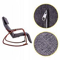 Кресло качалка WALNUT Goodhome, 120кг, фото 3