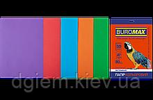 Бумага А4 цветная INTENSIVE 5цветов, 50л, 80г/м2