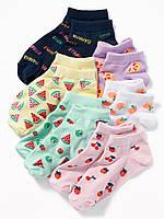 Набор детских носочков 6 пар Олд Неви для девочки