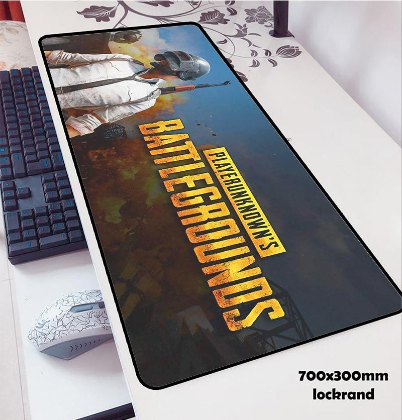Килимок для миші великий Battlegrounds mousepad 400/900/3mm Геймерський килимок для миші