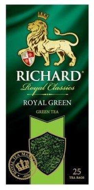 Чай Richard Royal Green, пакетированный, 25*2