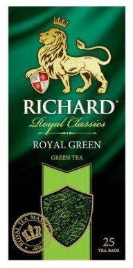 Чай Richard Royal Green, пакетированный, 25*2, фото 2