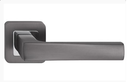 Дверні ручки Metal-Bud IBIZA графіт/хром