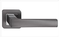 Дверні ручки Metal-Bud IBIZA графіт/хром, фото 1