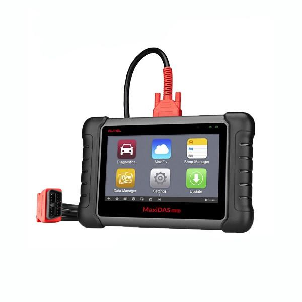 Автомобильный мультимарочный сканер MaxiDAS DS808