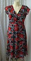 Платье женское легкое летнее миди бренд Ewm р.46