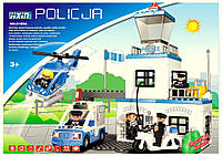 Конструктор JIXIN 8188A Полицейский участок, 63 детали, фото 1