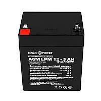 Аккумуляторная батарея LogicPower 12V 5AH (LPM 12 - 5.0 AH) AGM
