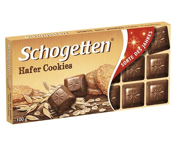 Молочний шоколад Schogetten Вівсяне Печиво 100 г