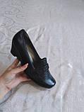 Широкі туфельки на танкетці, фото 5