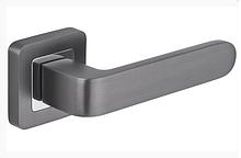 Дверні ручки Metal-Bud RIO графіт/хром