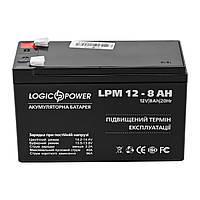 Аккумуляторная батарея LogicPower 12V 8.0AH (LPM 12 - 8.0 AH) AGM