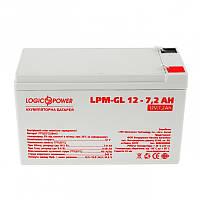 Аккумуляторная батарея LogicPower 12V 7.2AH (LPM-GL 12 - 7.2 AH) GEL
