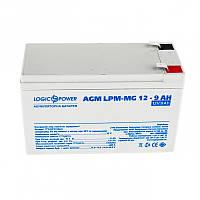 Аккумуляторная батарея LogicPower 12V 9AH (LPM-MG 12 - 9 AH) AGM мультигель