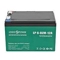 Аккумуляторная батарея LogicPower LP 6-DZM-12, AGM свинцово-кислотный