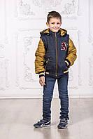 Модная детская куртка - жилетка для мальчика оптом и в розницу