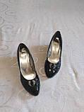 Туфли на небольшой танкетке, фото 2