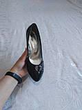 Туфли на небольшой танкетке, фото 3