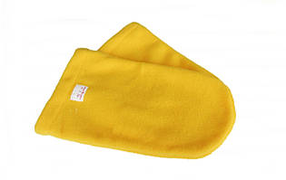 Рукавиці махровий-фліс (пара) для парафінотерапії Рукавиці для парафінотерапії, РІО, Жовтий