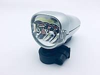 Фара светодиодная велосипедная 3х диодная 806А
