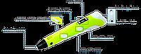 3D ручка с LCD дисплеем 3DPEN-2, фото 3