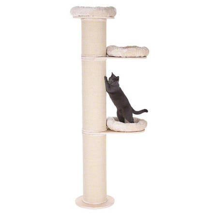 Когтеточка для кошки Eco Premium  с лежанками, фото 2