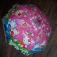 Детский прозрачный зонтик Hello Kitty Paolo