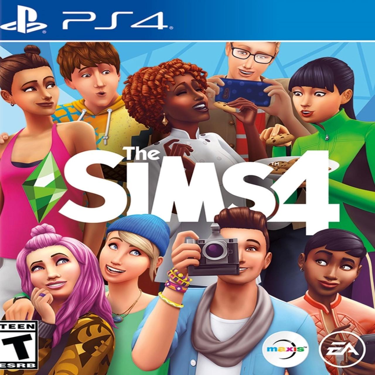 Sims 4 (російська версія) PS4