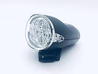 Фара светодиодная велосипедная 9и диодная 154А