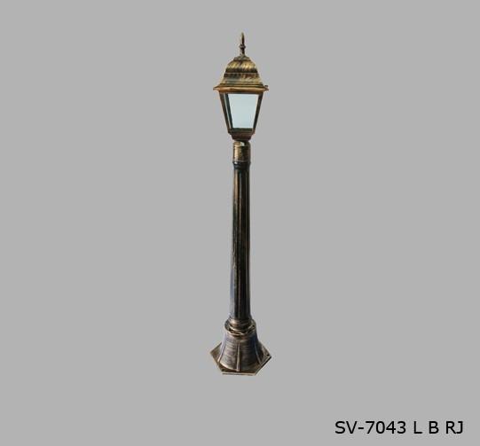 Садово - парковый светильник Столб SV-7043/1L B/R/J + water