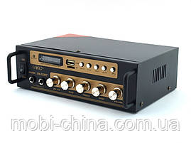 UKC SN222BT 120W  2*60W  усилитель звука bluetooth и караоке, фото 3