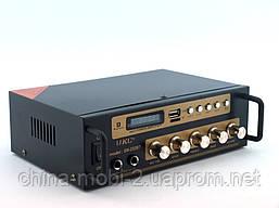 UKC SN222BT 120W  2*60W  усилитель звука bluetooth и караоке, фото 2
