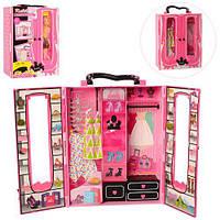 Мебель шкаф-чемодан, платья, обувь, сумочка, в кор. (18шт) (BLD119)