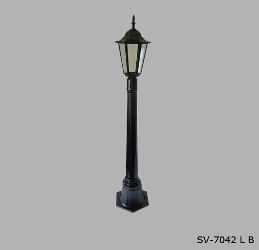 Садово - парковый светильник Столб SV-7042/1L B + water pipe