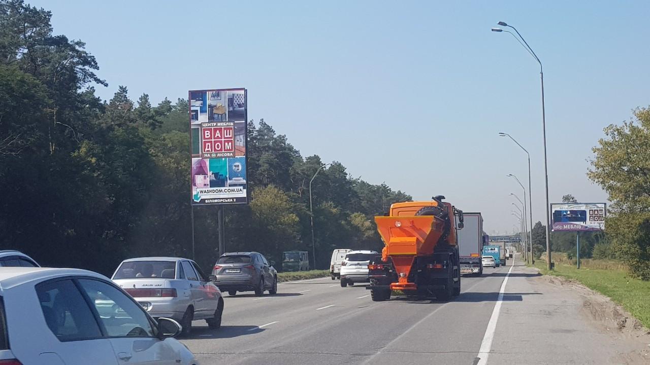 Деснянський район зовнішня реклама,проспект Броварський,Птахофабрика