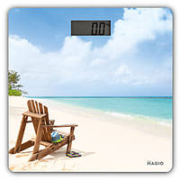 Весы Magio 802 (150кг) стекло, ЖК-дисплей, 802MG      /П2