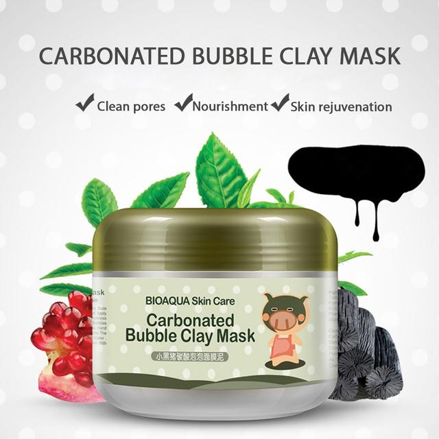 BIOAQUA Carbonated Bubble Clay Mask