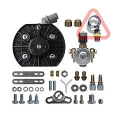 Редуктор KME TWIN BLACK вх. 8 (408 л.с.) + клапан газа ОМВ