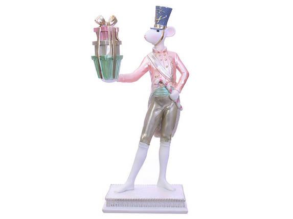 Статуэтка Lefard символ года Мышка с подарками 32 см  919-310 фигурка мышь крыса, фото 2