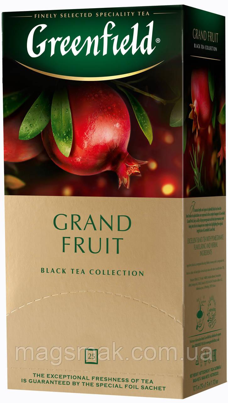 Чай Greenfield Grand Fruit, 25 пакетов