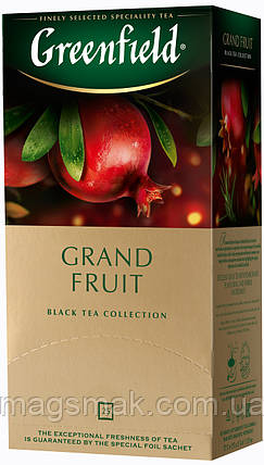 Чай Greenfield Grand Fruit, 25 пакетов, фото 2