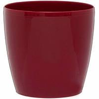 Горшок для цветов Магнолия, бордовый 135 мм
