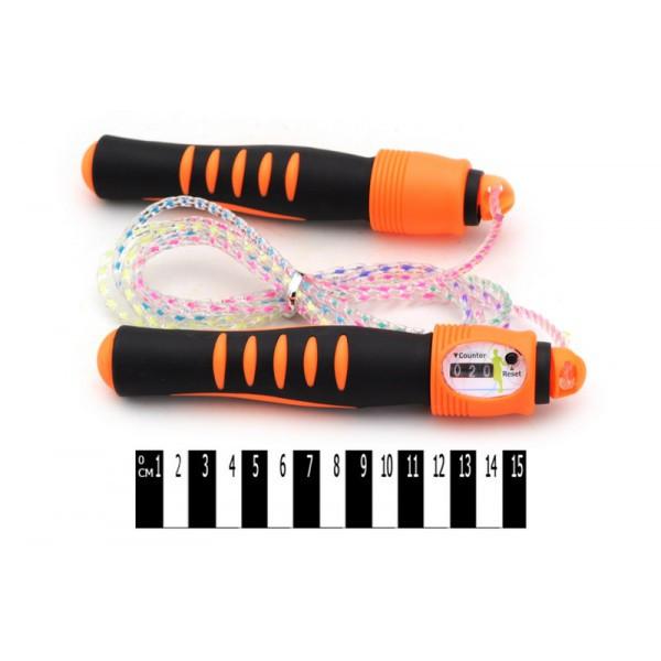 Скакалка, з лічильником, Скакалка з лічильником (кульок) BQ0120