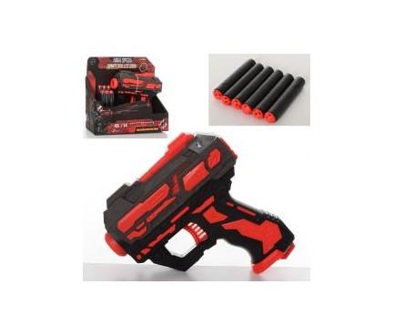 Пистолет, пули-присоски, FJ897