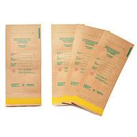 Крафт пакеты для паровой и воздушной стерилизации, 100*200 мм (10 штук в упаковке)
