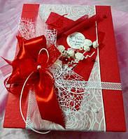 Коробка с декором ручной работы