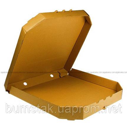Коробка под пиццу Ø 25 крафт, фото 2