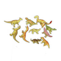Животные резиновые, 2 вида динозавриков, W6328-241/244